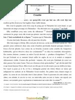 Devoir de Synthèse N°1  - Français - 9ème (2010-2011)  Mme Badrani Yosra