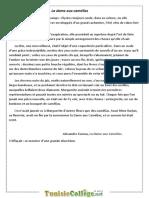 Devoir de Synthèse N°1 - Français  - 9ème (2010-2011) Mr chihaoui sofiene