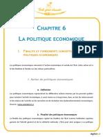 Bac Stmg Eco Chapitre 6 La Politique Economique