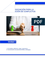 Manual del Curso Negociación para la Solución de Conflictos