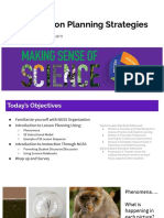 ngss lesson planning strategies  tlp