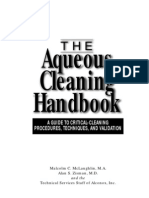 AQUEOUS CLEANING HANDBOOK
