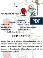 Business Ethics Project