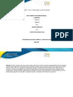 Unidad 2 - Tarea 3 – Enlace químico y estructura molecular
