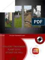 Effluent Treatment Plant System at Palm Oil Mill