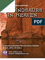 No Dinosaurs in Heaven Press Kit