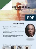 TEORIA DE APEGO