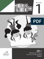 Material-de-refuerzo-lectura-y-escritura-inicial-Primero-LEE-nivel-1-tomo-2