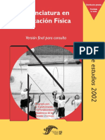 Plan Efisica2002