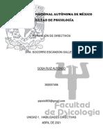 FORMACIÓN DE DIRECTIVOS unidad 1