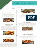 INFOGRAFIA Gastronomía en Sayulita