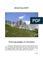 Diario Dolomitas 2007 Luisja