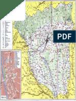 Harta Turistica Judetul Gorj