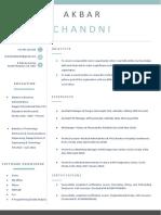 ChandniAkbar CV