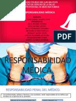 RESPONSABILIDAD MEDICA- medicina legal