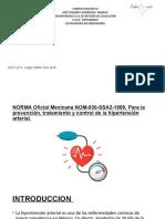 17. Nom 030 Hipertension Arterial