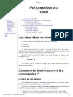 Présentation Shell