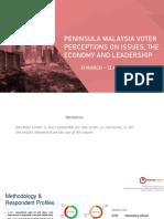 Merdeka Center Survey Report - April 2021