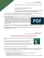 TEMA 2. PRINCIPIOS PEDAGÓGICOS DE LA ACCIÓN EDUCATIVA