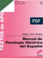 Manual de Fonologia Historica Del Español by Ariza Viguera Manuel (Z-lib.org)