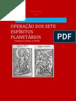 Operação dos Sete Espíritos Planetários