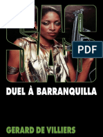 SAS 057 - Duel à Barranquilla Gerard de Villiers