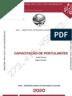 ITQ Capacitação de Postulante