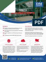 DM Química - Tinta Intumescente