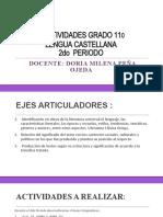ACTIVIDADES GRADO 11