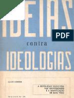 Ideias Contra Ideologias - Djacir Menezes