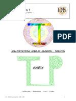 TP flexion torsion