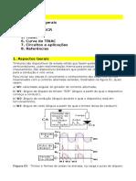 Tiristores. 1. Aspectos gerais 2. SCR 3. Curva do SCR 4. DIAC 5. TRIAC 6. Curva do TRIAC 7. Circuitos e aplicações 8. Referências. 1.