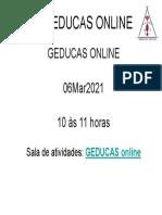 Sala de Atividades Online