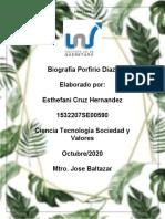 Porfirio Díaz biografia