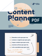 Content Planner 365 Ideias at Postarpravender