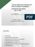 BusinessRequirementsGatheringPracticalTechniquesFINAL
