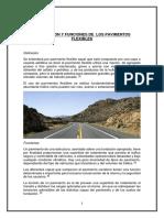 DEFINICIONES PAVIMENTOS FLEXIBLES