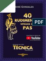 Andre Gonzales - 40 Rudimentos Oficiais Da Pas - Cópia (2)