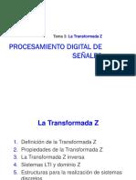 Transformada Z y Matlab - DSP (2018-03)