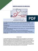 1.1 PROCEDIMIENTOS BASICOS EN MEDICINA - PARTE I