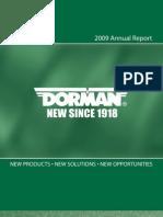 2009_Dorman_Annual_Report
