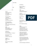 Plath Poems