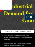 Industrial Demand for Gold