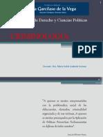 material----criminologia