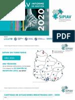 Informe Sipiav 2020