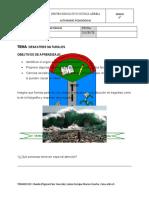 Desastres Naturales Grado 5to