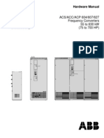 ACS604 VSD Hardware manual (ABB)