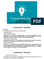 Encuadre Emprendedurismo