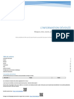 L'information dévoilée - version 1 - petite police