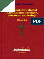Rugaciuni Către Sfântul Mare Mucenic Gheorghe, Purtătorul de Biruinţă
